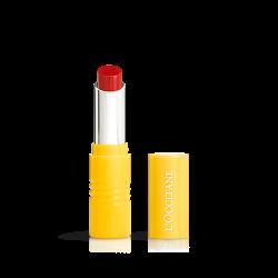 L`Occitane Fruity Lipstick Red Rock En Vermillon 3g