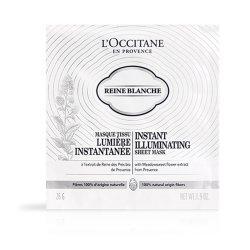 L`Occitane Masks Instant Sheet Reine Blanche Iluminanta