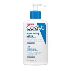 Loțiune hidratantă de față și corp pentru piele uscată și foarte uscată, 236 ml, CeraVe