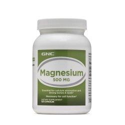 Magneziu 500 mg (136812), 120 capsule, GNC