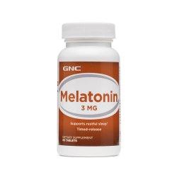 Melatonina 3 mg (131612), 60 tablete, GNC