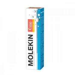 Molekin Vitamina C + Zinc, 20 comprimate efervescente, Zdrovit