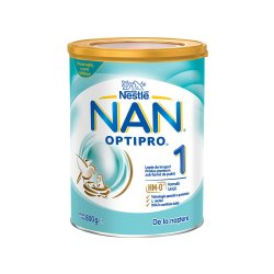 Nan 1 Optipro HM-O Formula de lapte Premium, +0 luni, 800 g, Nestle