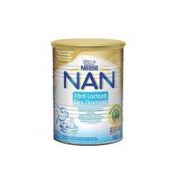 Nan fara lactoza Formula de lapte, +0luni, 400g, Nestle
