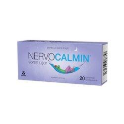 Nervocalmin cu valeriană, 20 capsule, Biofarm