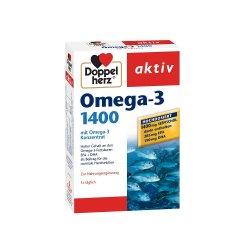 Omega-3 1400, 30 capsule, Doppelherz