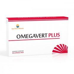 Omegavert Plus, 30 capsule, Sun Wave Pharma