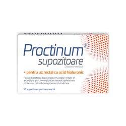 Proctinum supozitoare cu acid hialuronic pentru hemoroizi, 10..