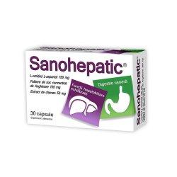 Sanohepatic, 30 capsule, Natur Produkt