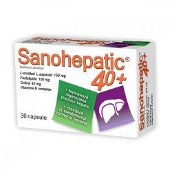 Sanohepatic 40+, 30 capsule, Zdrovit
