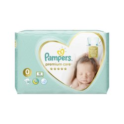 Scutece Nr 0 Premium Care New Born, 30 buc, <3 kg, Pampers