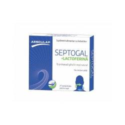Septogal+lactofeina, 27 comprimate, Aesculap