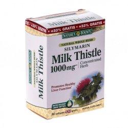 Silymarin Milk Thistle 1000mg, 60 capsule, Nature`s Bounty