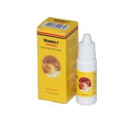 Vitamina C picaturi, 15 ml, Natural Pharmaceuticals