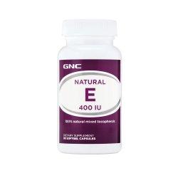 Vitamina E Naturala 400 UI (573366), 90 capsule moi, GNC