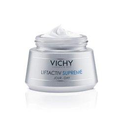 Cremă antirid și fermitate pentru ten uscat Liftactiv Supreme, 50 ml, Vichy