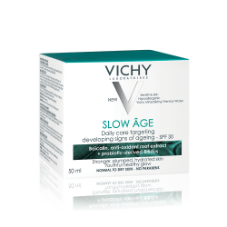 Cremă de față pentru corectarea și încetinirea apariției semnelor de îmbătrânire a tenului SPF 30 Slow Age, 50ml, Vichy