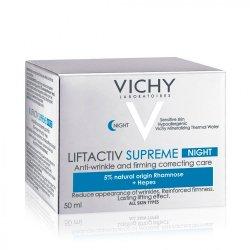 Cremă de noapte antirid și fermitate Liftactiv Supreme, 50 ml, Vichy