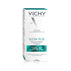 Fluid pentru corectarea și încetinirea apariției semnelor de îmbătrânire a tenului SPF 25 Slow Age, 50ml, Vichy