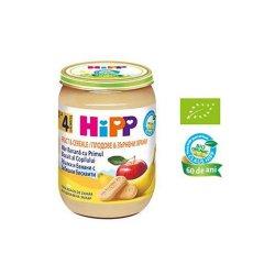 Fructe și cereale măr banană cu primul biscuit al copilului, +4 luni, 190 g, Hipp image
