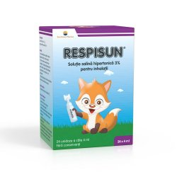 Respisun soluție salina hipertonică 3%, 24 doze, Sun Wave Pharma