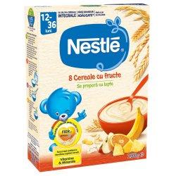 8 Cereale cu fructe, 1-3 ani, 250 g, Nestle image