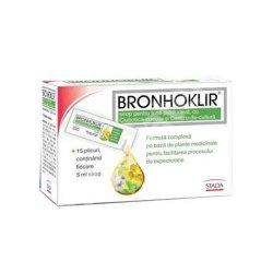 Bronhoklir pentru tuse productivă, 15 plicuri, Stada