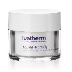 Crema hidratanta pentru piele normal-mixta Aquafil Hydra Light, 50 ml, Ivatherm