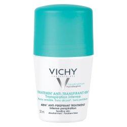 Deodorant roll-on antiperspirant cu parfum 48h, 50 ml, Vichy