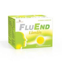 FluEnd lămâie, 20 comprimate, Sun Wave Pharma