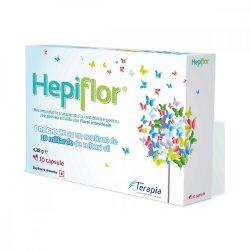 Hepiflor adulți, 10 capsule, Terapia