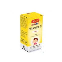 Picături soluție orală Vitamina C Bioland Junior, 10 ml, Biofarm