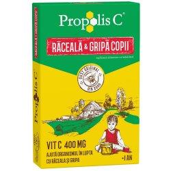 Propolis C răceala și gripa kids +1an, 8 plicuri, Fiterman Pharma