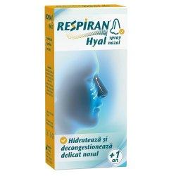 Spray nazal - Respiran Hyal, 20 ml, Look Ahead