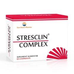 Stresclin Complex, 60 comprimate, Sun Wave Pharma