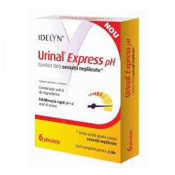 Urinal Express pH, 6 plicuri, Walmark
