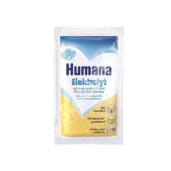 Electrolyt cu gust de banane, 12 luni, 2 plicuri, Humana