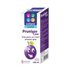 Prunisor Lax Sirop Infant Uno, 100 ml, Solacium Pharma image