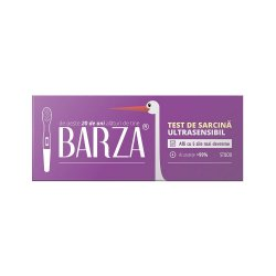 Test de sarcină stilou ultrasensibil Barza, 1 bucată, Biotech..