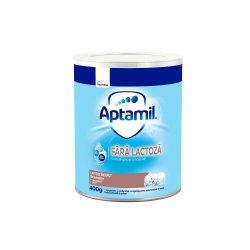 Aptamil Pronutra fara lactoza, formula de lapte speciala, +0 luni, 400 g, Nutricia