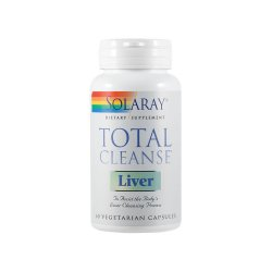 Total Cleanse Liver Solaray, 60 capsule, Secom image