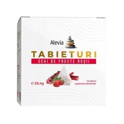 Ceai de fructe roșii Tabieturi , 12 plicuri, Alevia image