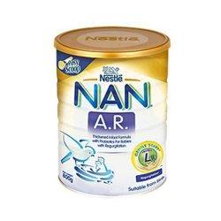 Nan AR Formula specială de lapte praf pentru regim dietetic, +0 luni, 400 g, Nestle image
