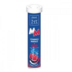 Vitamine și minerale + Ginseng, 24 comprimate efervescente, Zdrovit image