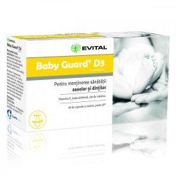 Baby Guard D3, 40 capsule, Evital
