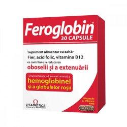 Feroglobin B12, 30 capsule, Vitabiotics image
