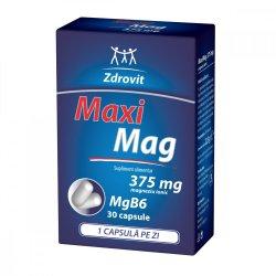 MaxiMag, 375 mg, 30 capsule, Zdrovit