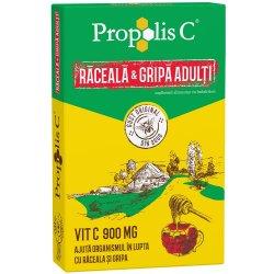 Propolis C răceala și gripa adulți, 8 plicuri, Fiterman Pharma