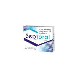 Septoral, 20 comprimate, Natur Produkt