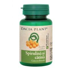 Spirulina și Cătina, 60 comprimate, Dacia Plant